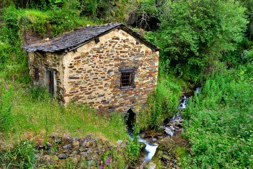Mulino de agua en Caurel