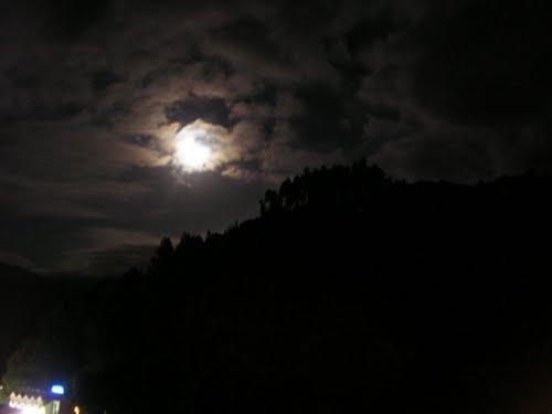 La luna en El Picón, Borleña