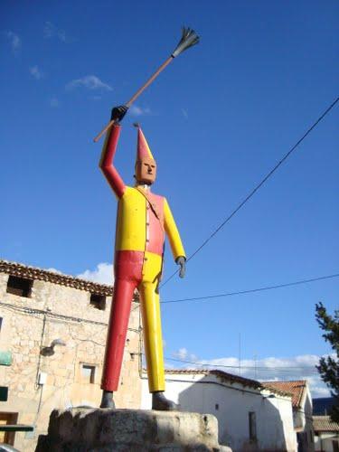 Hinojosa de Jarque (Cuencas Mineras) - Escultura