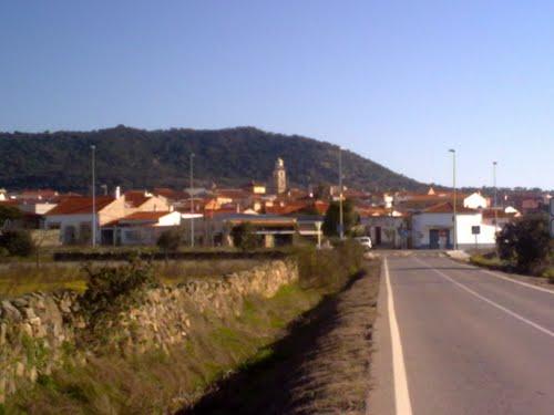 Vista de Almoharín