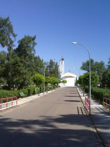 Iglesia de Sagrajas. Mayo de 2010