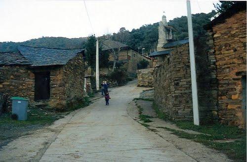 La calle de la iglesia