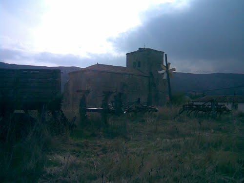 Iglesia de San Martín desde la era