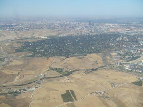 Madrid a lo lejos