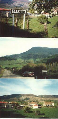 Orrantia, pueblo Vasco en Burgos, Valle de Mena
