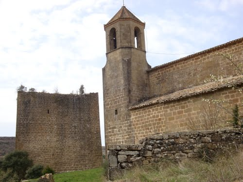 Església i torre de Riner (Solsonès)