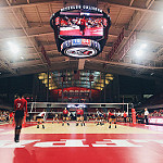 First sporting event back in Reynolds and we #PackDig it. 🐺🐾
