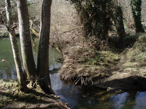 Río Ladra, Begonte