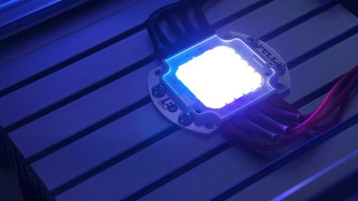 我国自主LED芯片输出功率创世界纪录