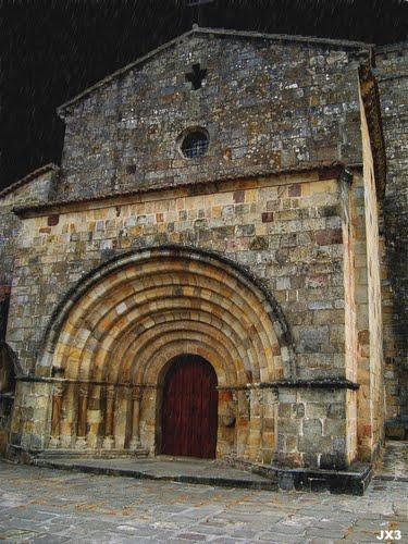Colegiata románica de Castañeda. JX3. Patrimonio.