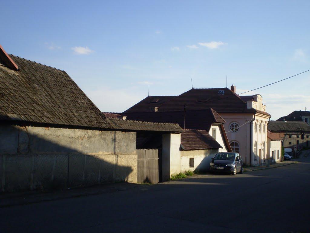 Divišov-Šternberská ulice.