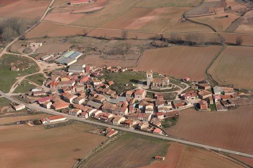 Vista aérea de Castrillo de Solarana