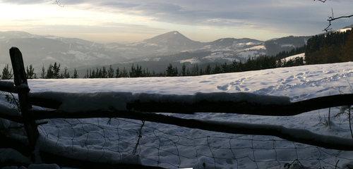 Irimo mountain seen from Itsaso