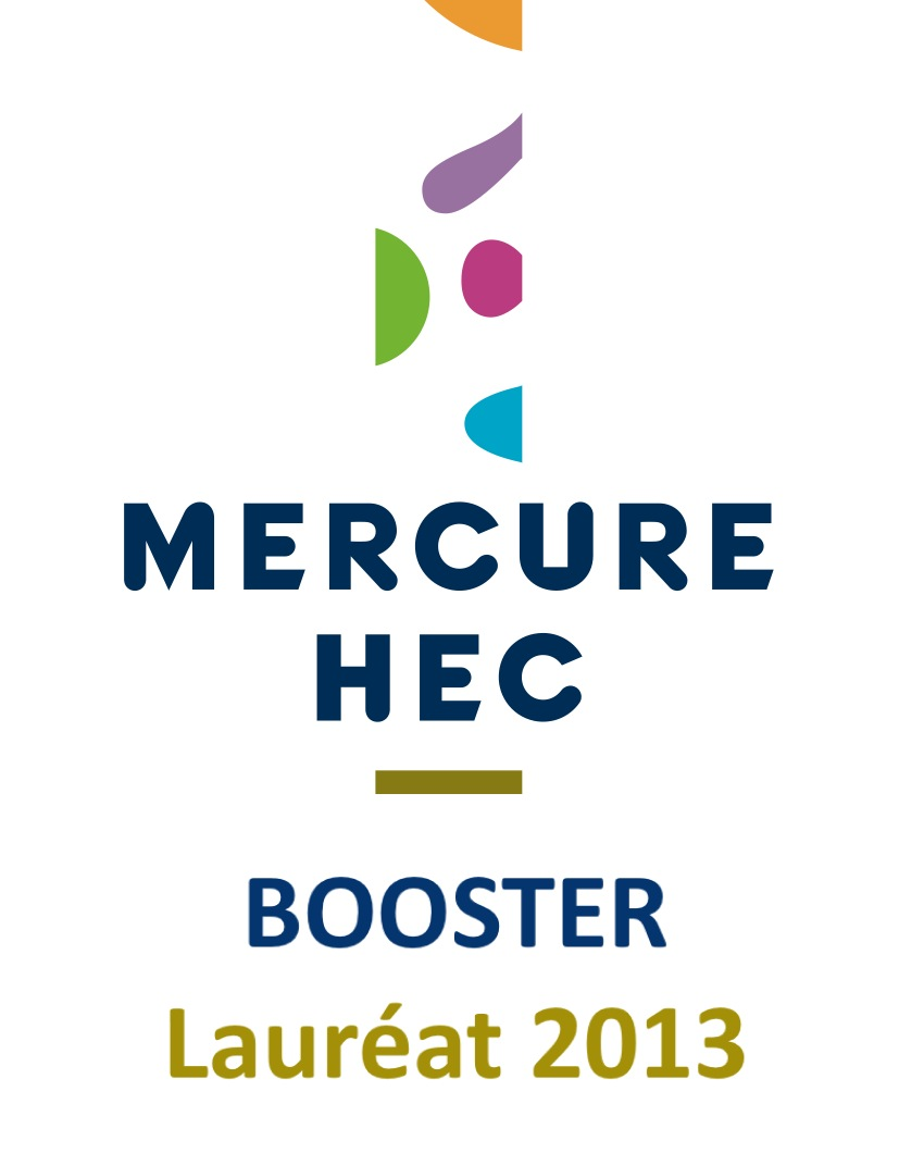 Lauréat Mercure HEC Booster 2013