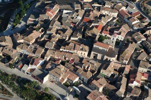 Vista aérea de Vertavillo