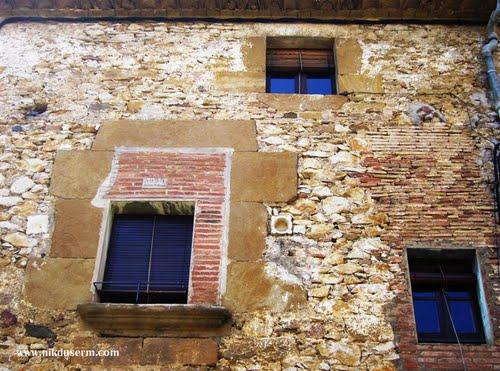 three windows and a pot