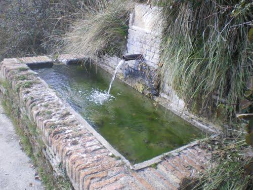 Caspueñas, Agua