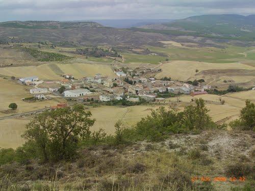 Ribagorda desde lo alto del Cerro Santiago