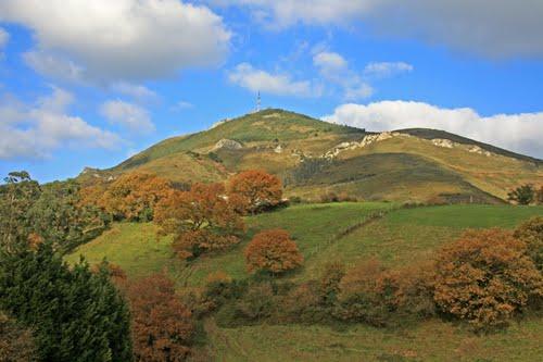 Monte Serantes desde Nocedal