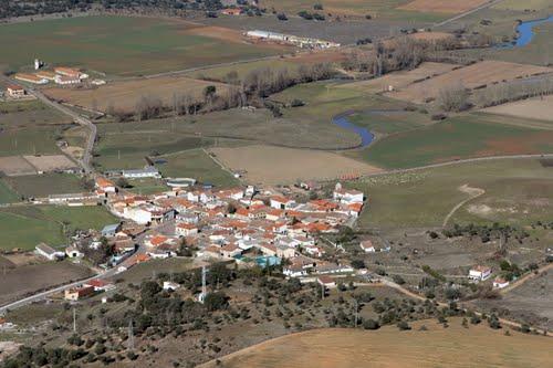 Vista aérea de Vega de Tirados