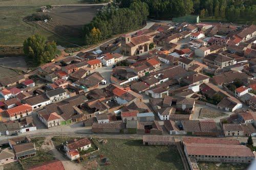 Vista aérea de Espino de la Orbada