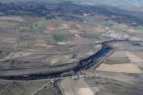 Vista aérea de Encinas de Arriba