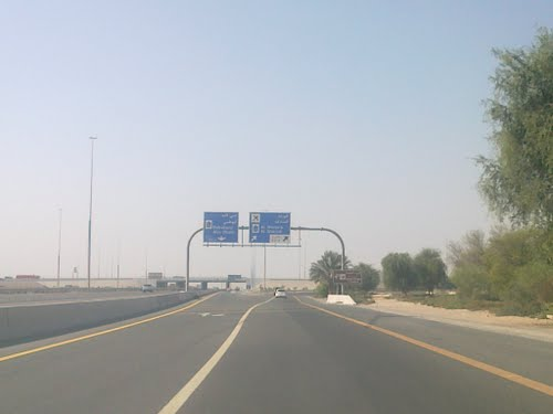 Cross Dubai - Al Ain Road with Emirates Road By Eng. Fadi Fayyadh Al Toubeh