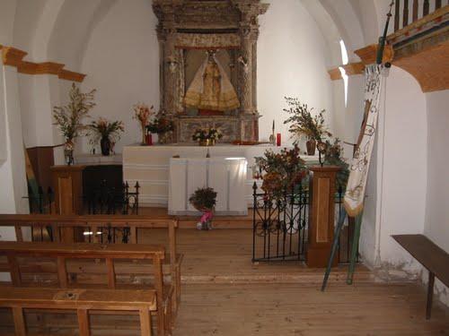 interior ermita Nª Señora de los Yermos