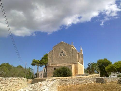 Cami de Biniati (parte trasera Iglesia)