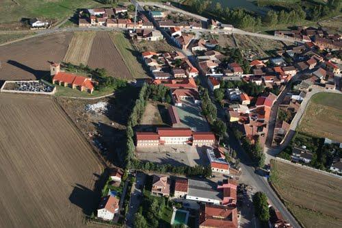 Vista aérea de Pedrosillo el Ralo