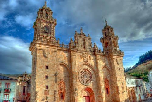 Catedral de Mondoñedo. Dedicada para unos chicos de la República Checa.  Hana & Karel