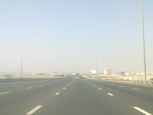 Emirates Ring Road Near Sharjah