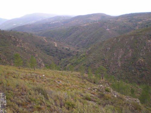 Panorámica Rio Xares2 dende Larouco (Larouco)