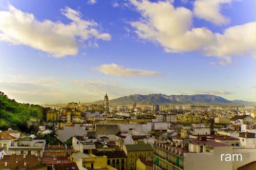Málaga capital de la costa del sol, dedicada a todos mis amigos de Panoramio