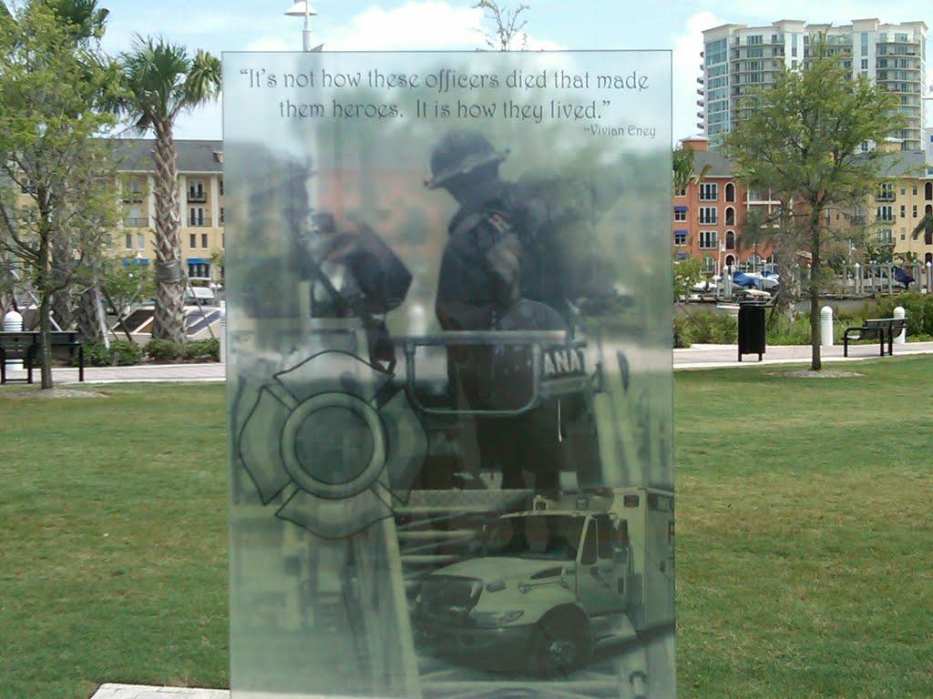 Tampa Firefighters Memorial