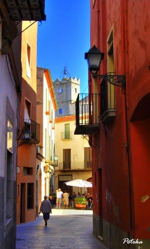 Calle de Castelló d`Empúries