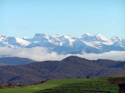 Pirineos desde Larués.