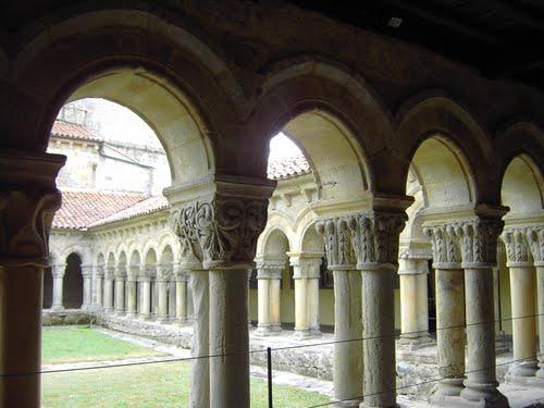 Colegiata de Santa Juliana, S-XII,  Santillana del Mar (Cantabria)