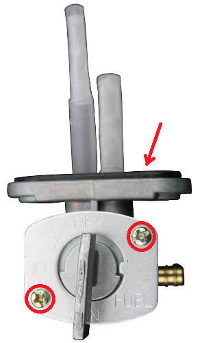 fix petcock valve