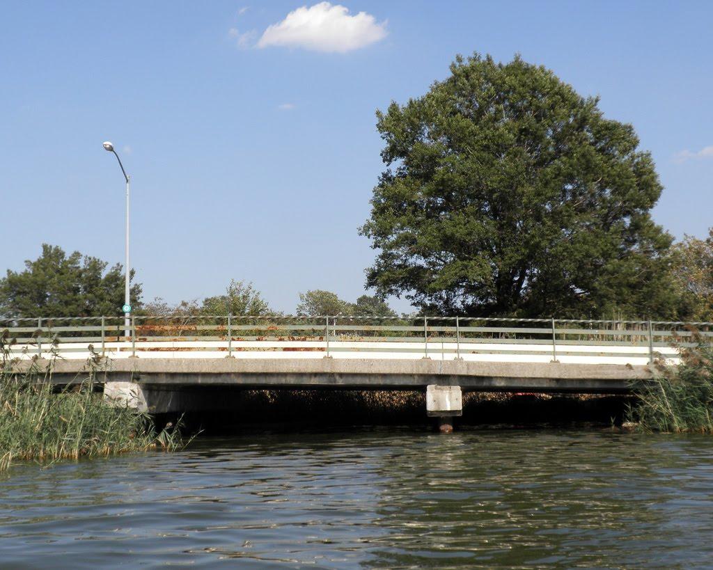 Meadow Lake Promenade Bridge over Flushing River, Queens, New York City