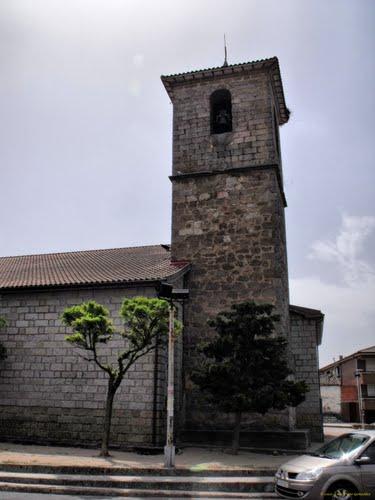 Campanario de la iglesia de Sotillo de la Adrada