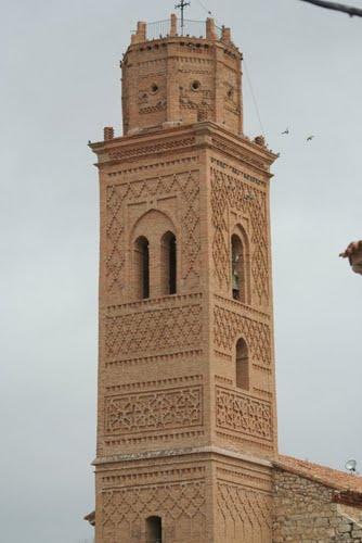 Torre de la iglesia de San Pedro de Romanos (Daroca)