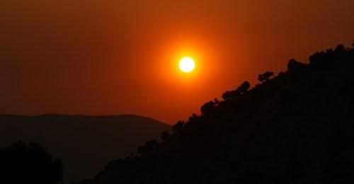 Sunset, Sierra de Grazalema