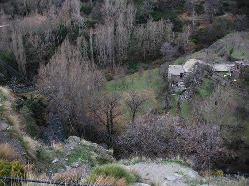 Un lugar de La Alpujarra. Enero de 2011