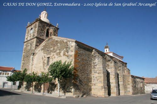 CASAS DE DON GOMEZ - Caceres - 2.007 - P.A.M.Z.