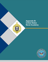 Cover of    Appendix B: United States Naval Academy