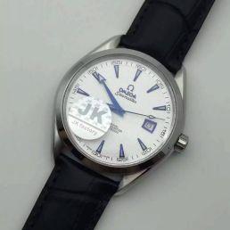 JK出品Omega欧米加海马系列新款超薄男士腕表 搭载ETA2824机芯