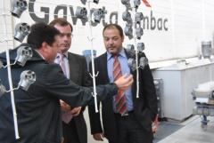La empresa Gaviota Simbac colabora con el Ecomercado