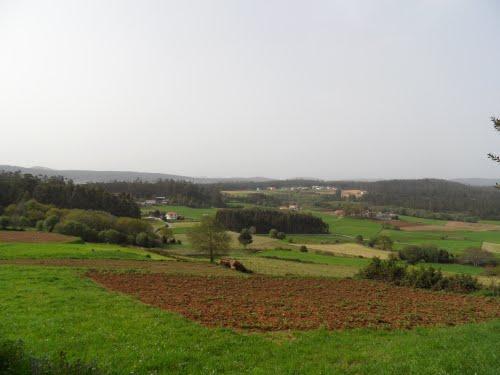 Vista de Baizana e parte de Loroño