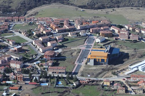 Vista aérea de Palazuelos de Eresma